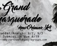 The Grand Masquerade Returns!
